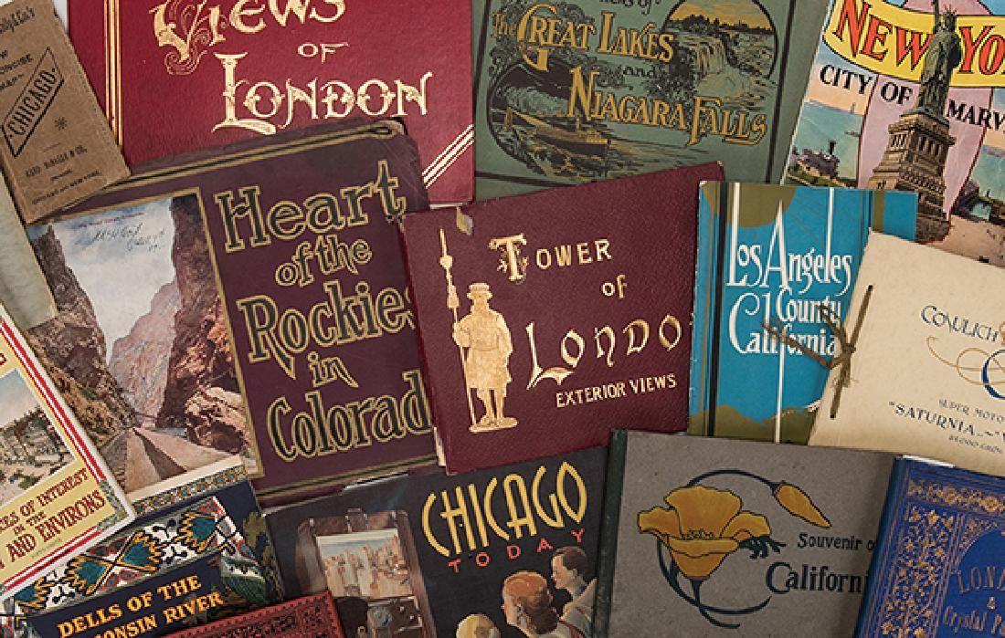 [Travel] Collection of 17 Travel Souvenir Photo Books