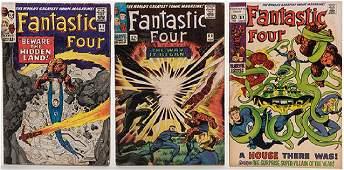 Fantastic Four. Lot of 53 Comic Books.