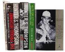 Thompson, Hunter S. A Lot of 4 Signed Books.