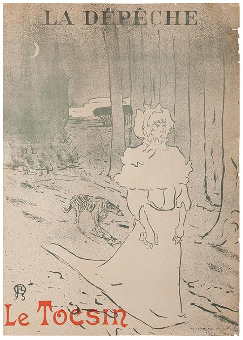 Toulouse-Lautrec, Henri de. Le Tocsin. La Depeche.