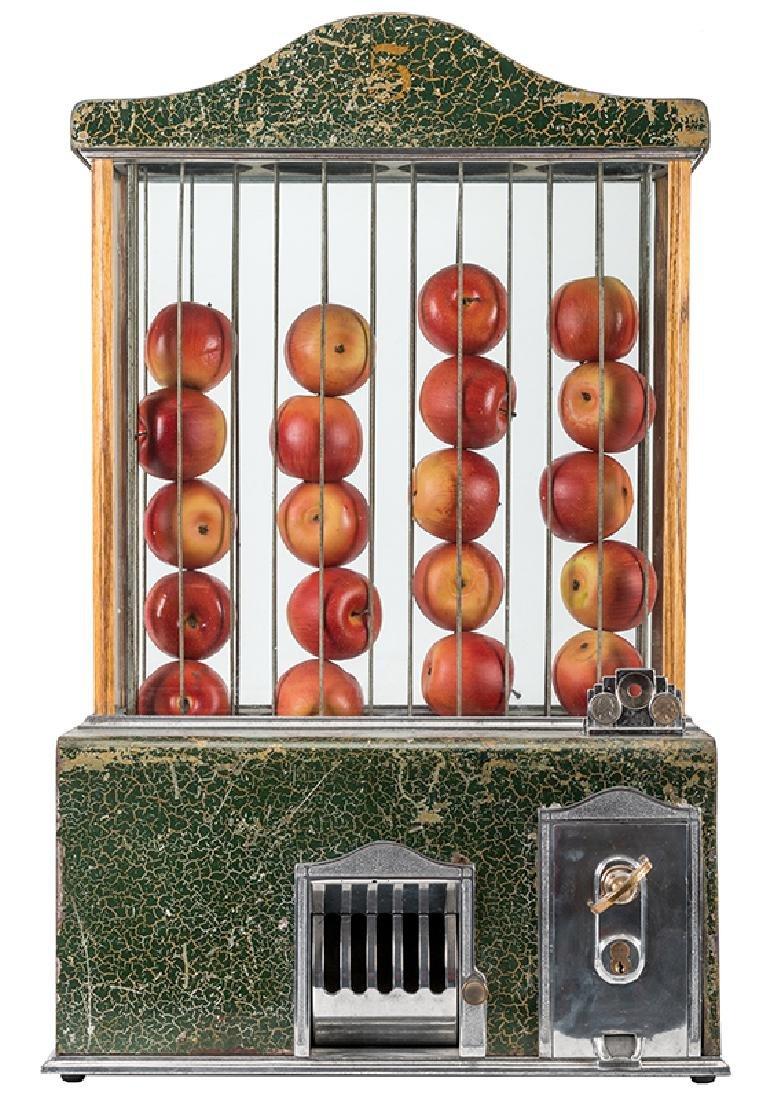 Apple Vendor Co. 5 Cent Vendor.
