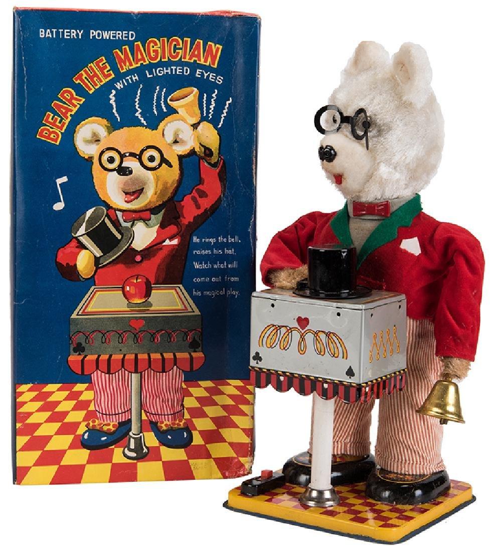 Yonezawa Bear the Magician Battery-Powered Toy.
