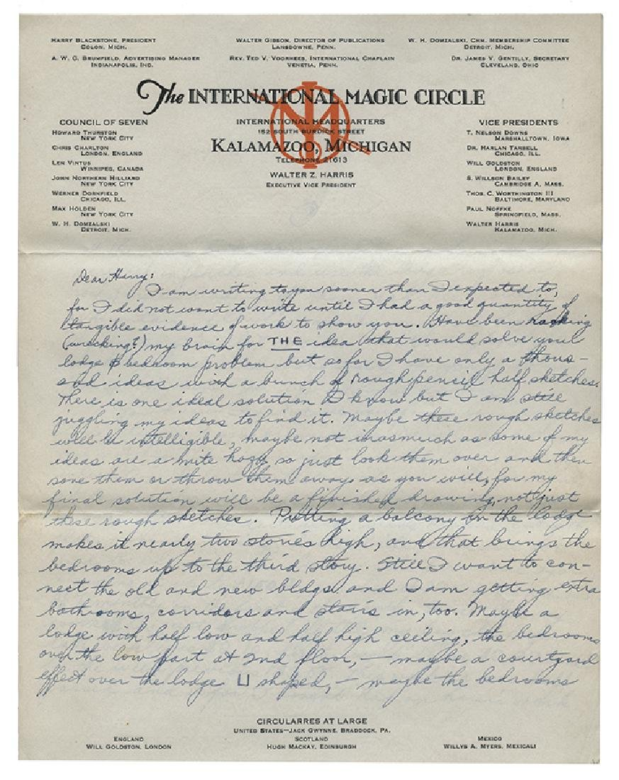 Archive of International Magic Circle Documents and - 6