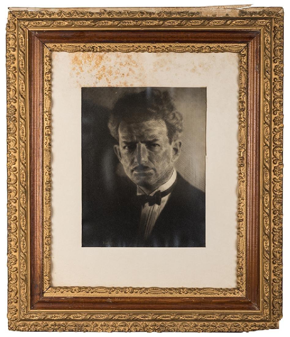 Framed Lobby Portrait of Blackstone.