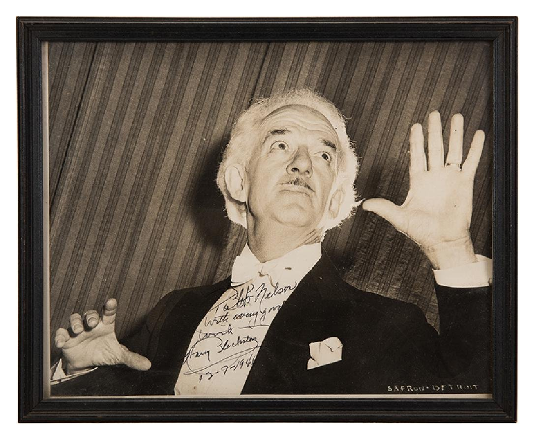 Signed Photograph of Blackstone.