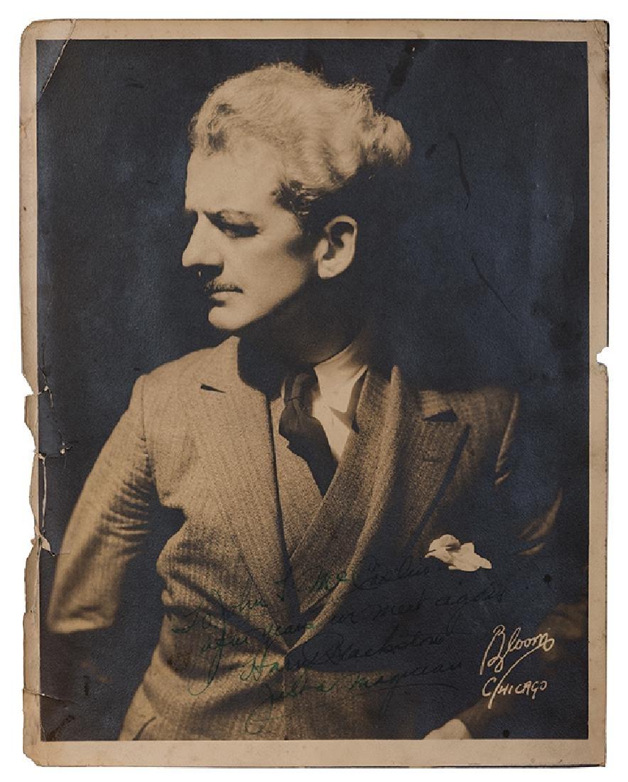 Signed Photograph of Blackstone.