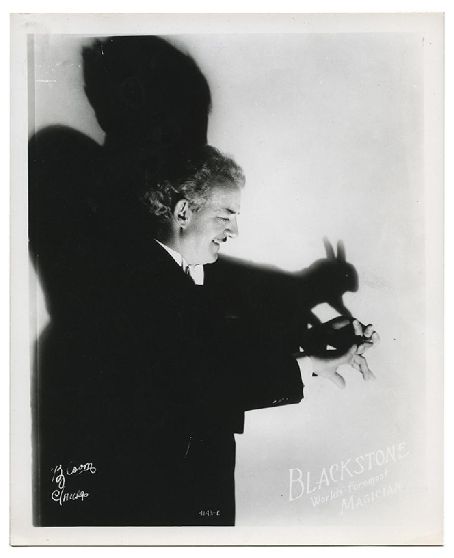 Group of 13 Harry Blackstone Sr. Publicity Photographs.
