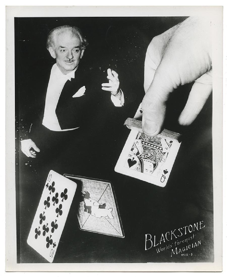 Group of 13 Harry Blackstone Sr. Publicity Photographs. - 2