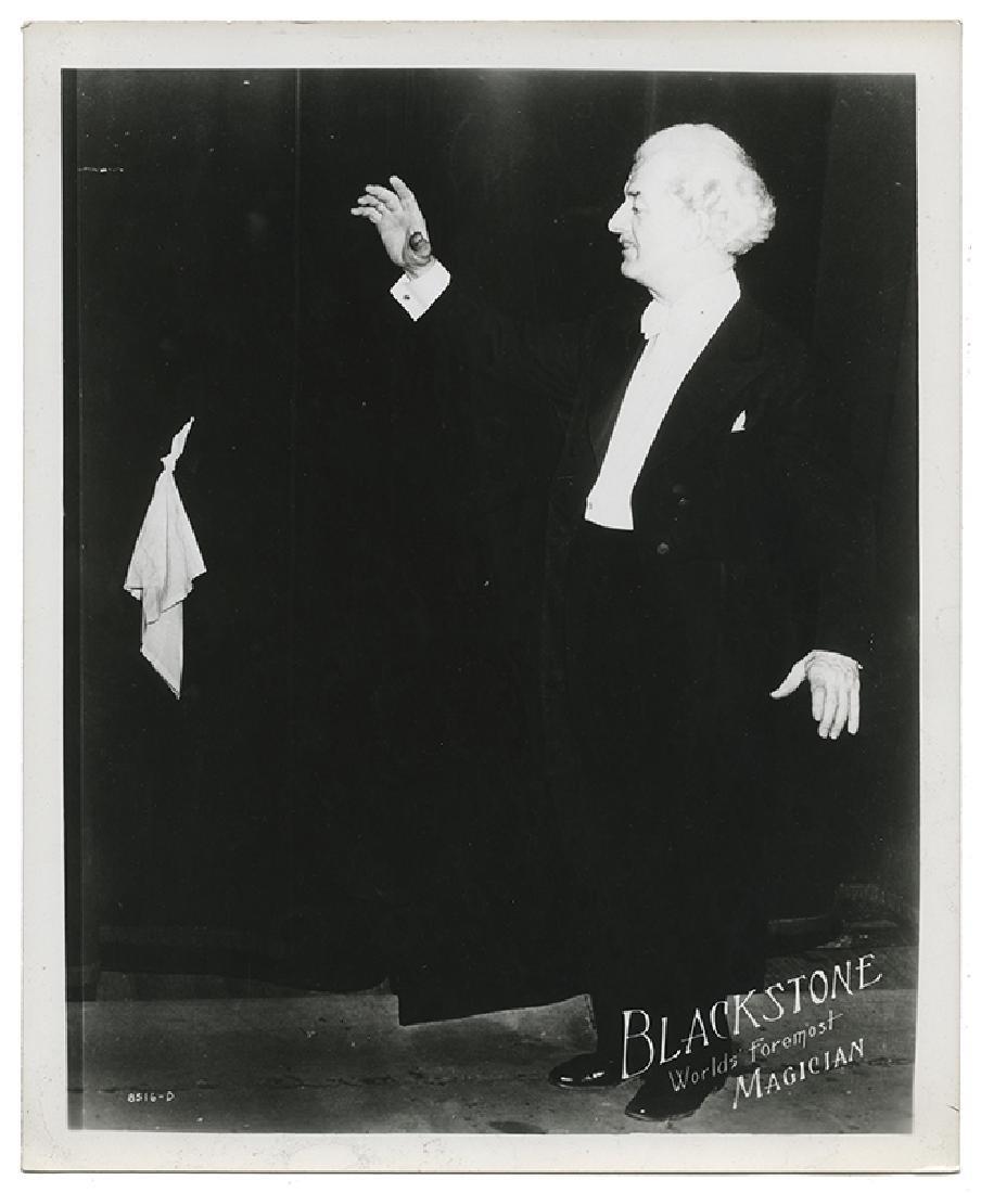 Group of 13 Harry Blackstone Sr. Publicity Photographs. - 3