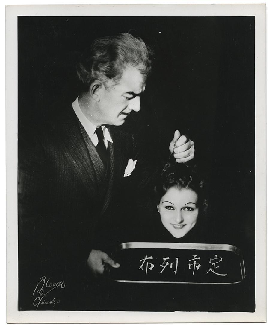 Group of 13 Harry Blackstone Sr. Publicity Photographs. - 4