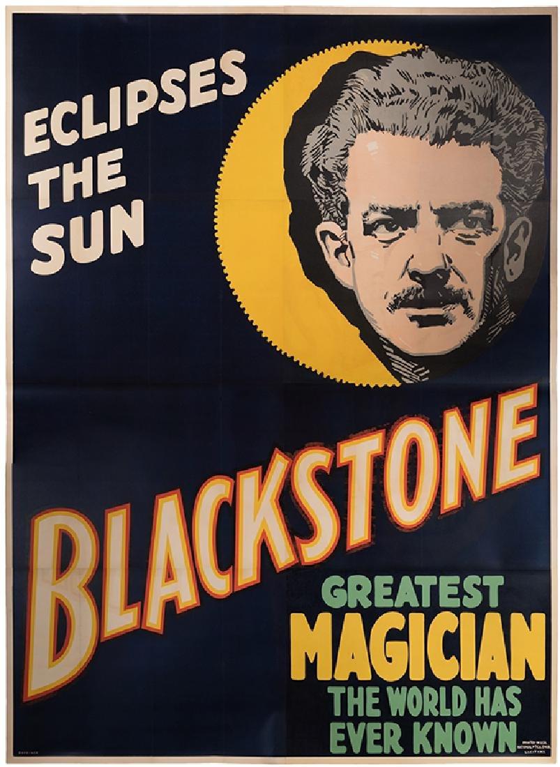 Eclipses the Sun. Blackstone. Greatest Magician The