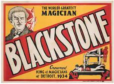 World's Greatest Magician. Blackstone. Crowned King of