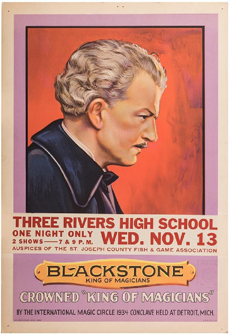 Blackstone. King of Magicians.