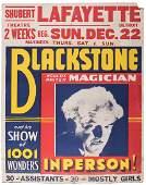 Blackstone. World's Master Magician.