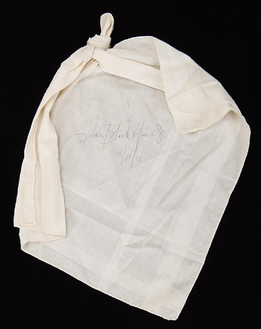Harry Blackstone Jr. Signed Dancing Handkerchief.