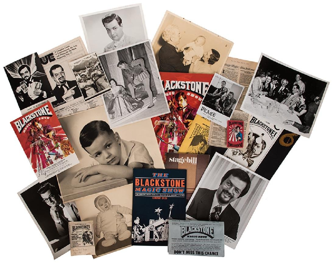 Large Archive of Harry Blackstone Jr. Photos and