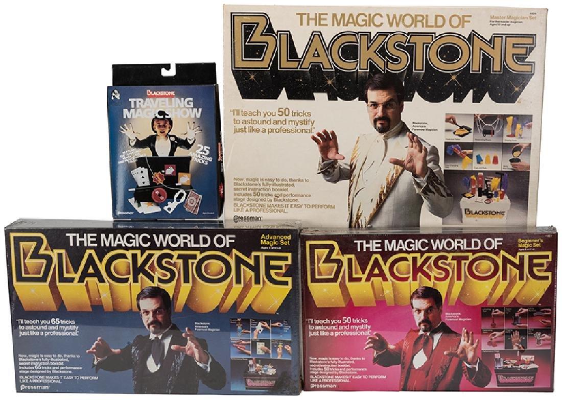 The Magic World of Harry Blackstone.