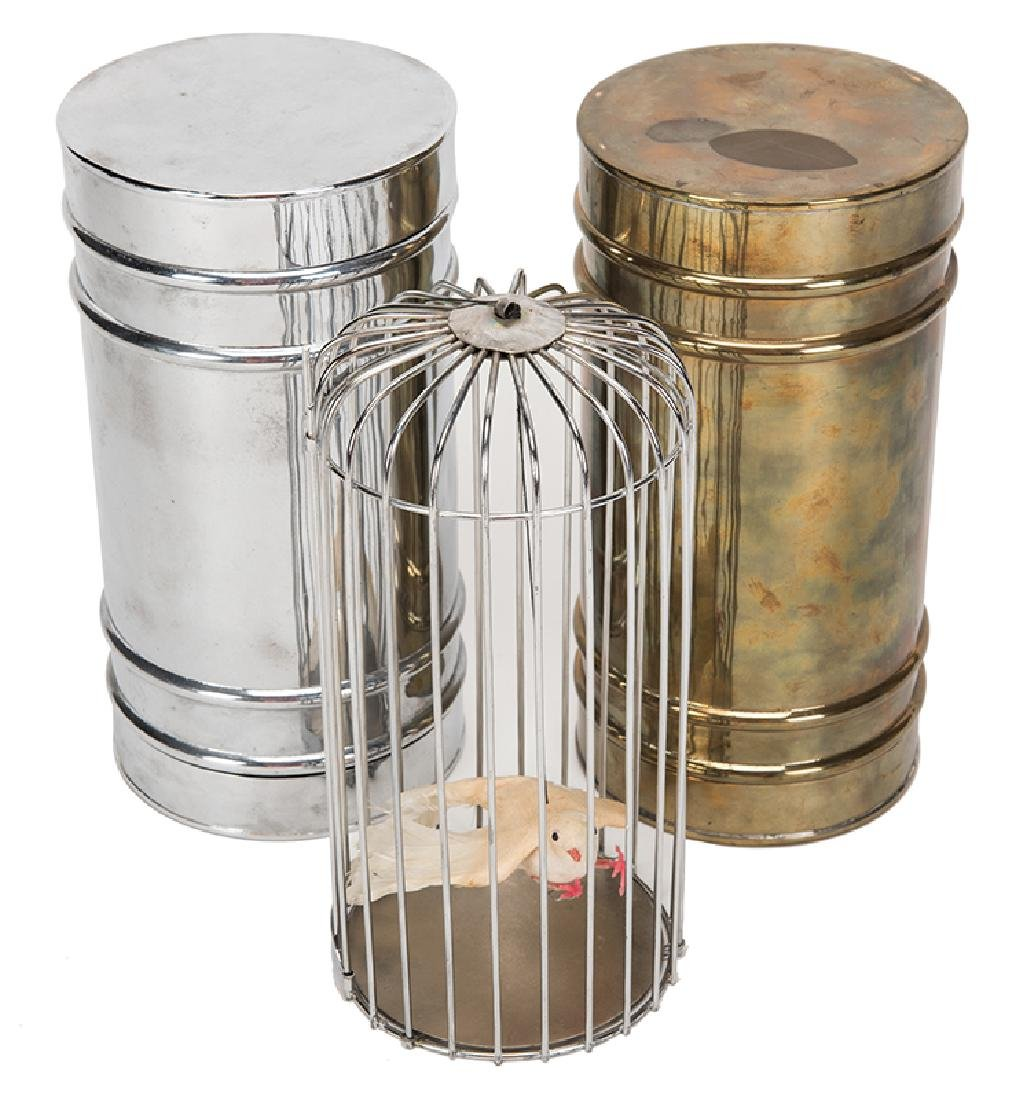 Bird Cage Canister.