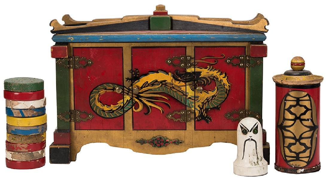 Haunted Cabinet and Checkers of Quong Hi.