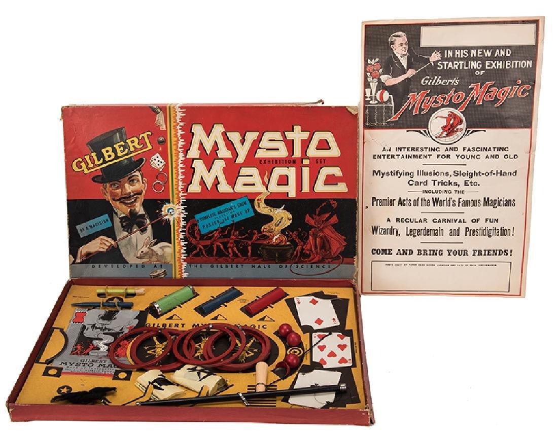 A.C. Gilbert Mysto Magic Set No. 2.