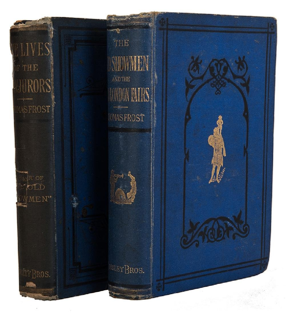 Frost, Thomas. Two Volumes by Frost.