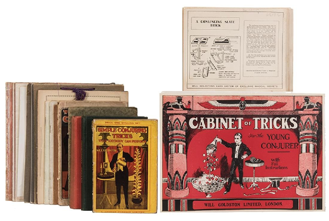 Group of Will Goldston Publications and Ephemera, Some
