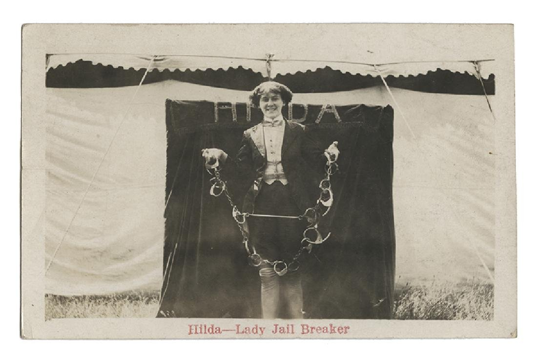 Hilda—Lady Jail Breaker RPPC.