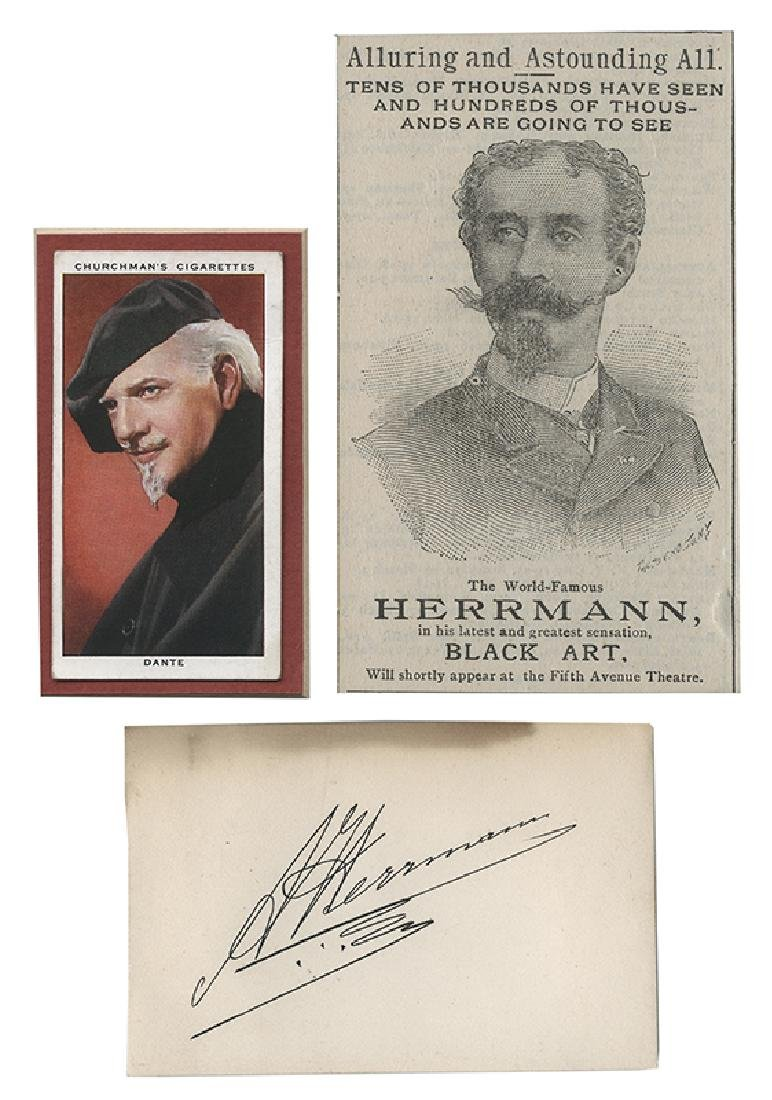 Collection of 13 Pieces of Magic Ephemera Related to