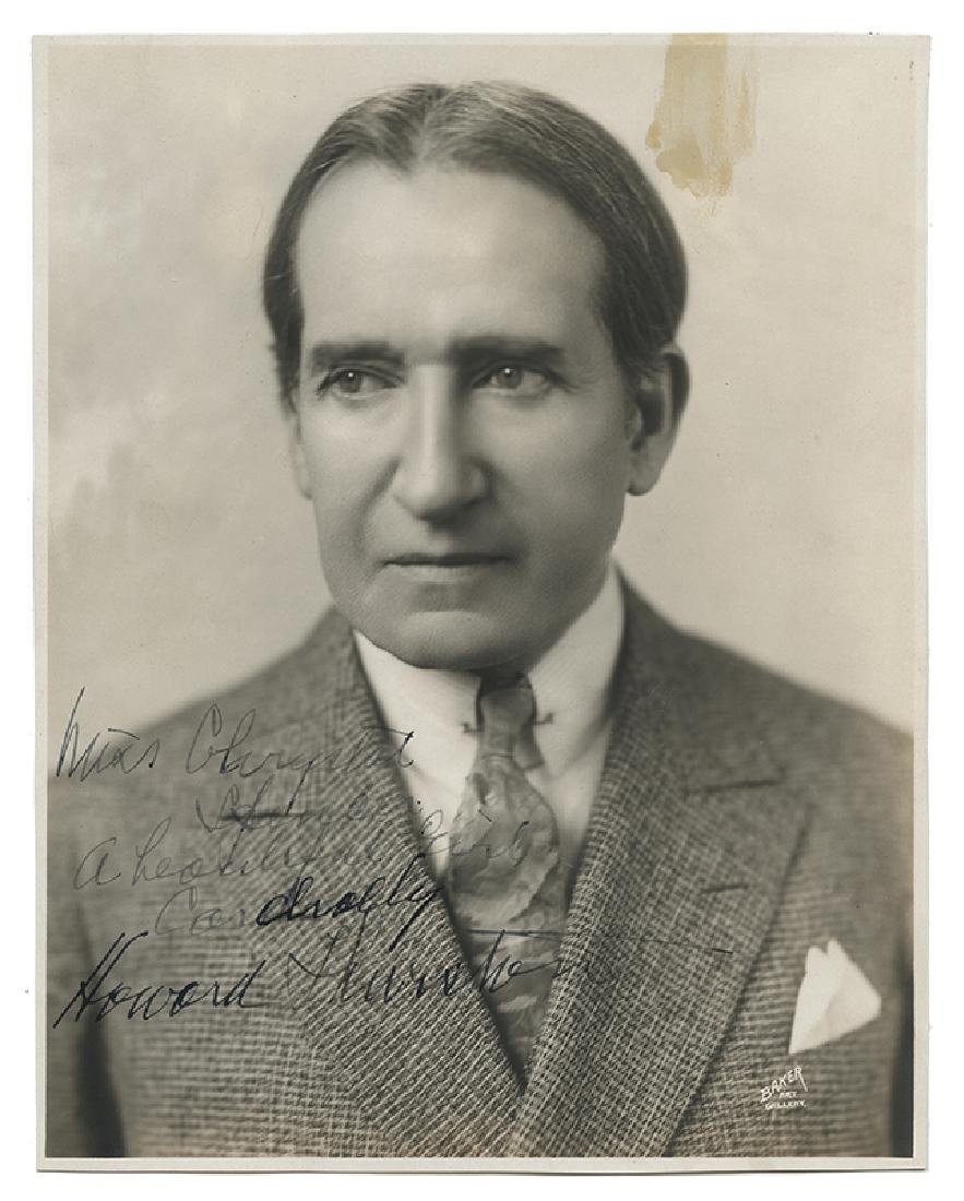 Photograph Inscribed and Signed by Thurston.