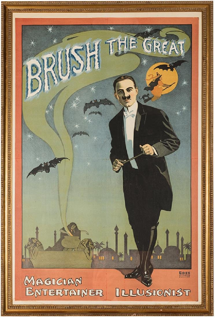 Brush the Great. Magician. Entertainer. Illusionist.