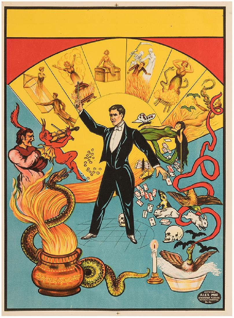 Magician's Stock Poster.
