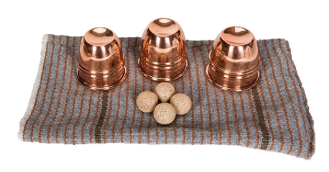 Danny Dew's Copper Paul Fox Cups.