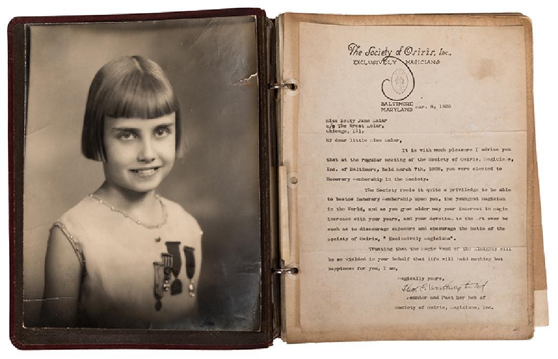 Outstanding Scrapbook of Kolar Photographs, Letters,