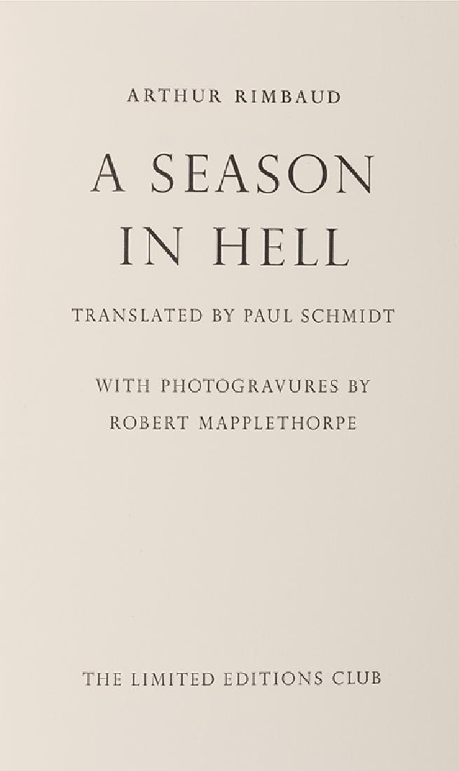 A Season in Hell. - 5