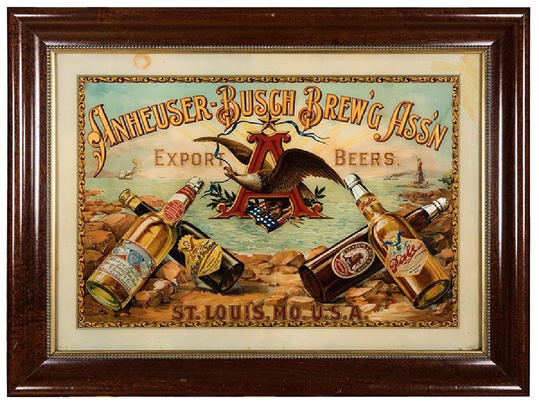 Anheuser—Busch Brew'g Ass'n Export Beers. St. Louis,