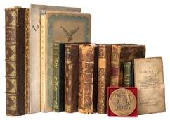 Group of Miscellaneous Editions of Works by Voltaire