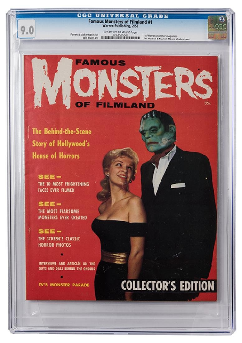 Famous Monsters of Filmland No. 1.