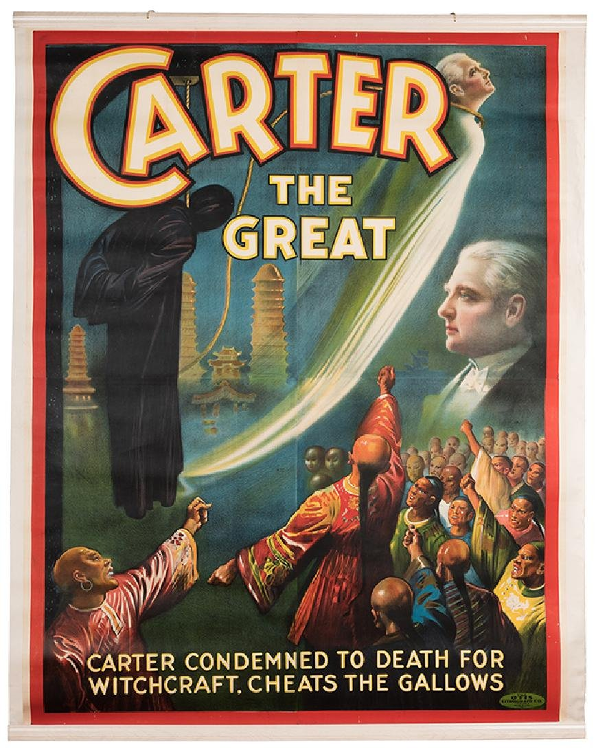 Carter the Great. Condemned to Death for Witchcraft.
