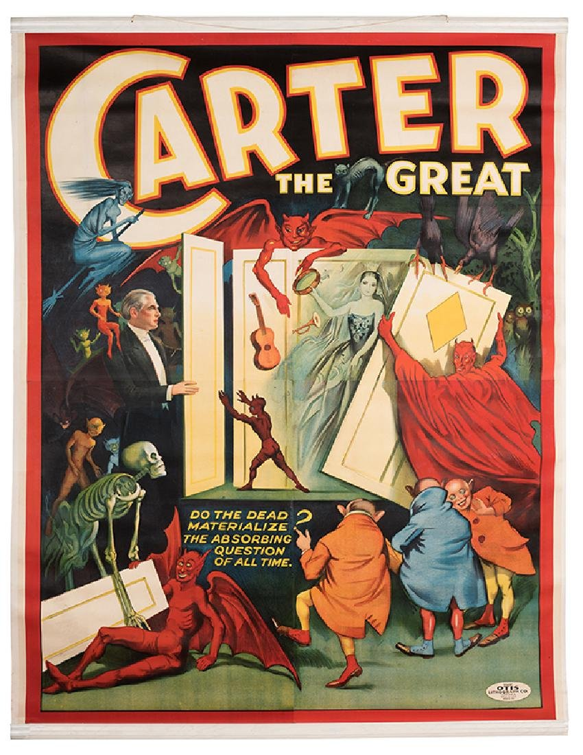 Carter the Great. Do the Dead Materialize? The