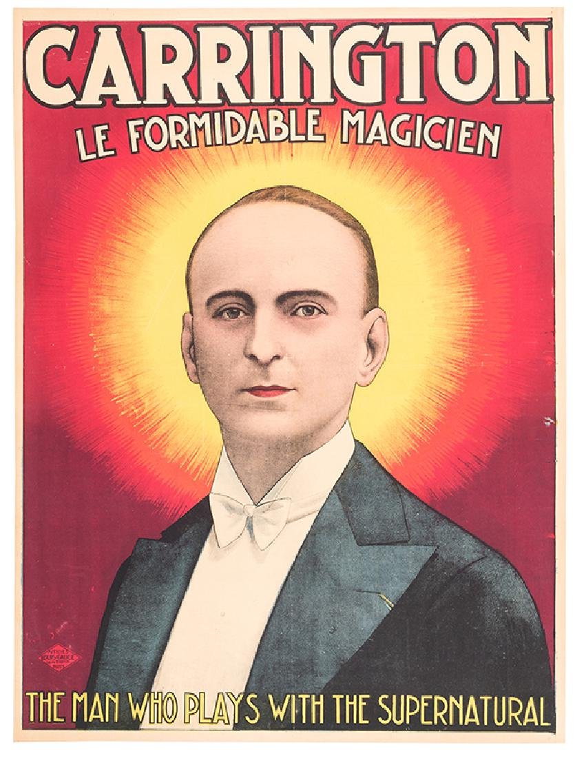Carrington Le Formidable Magicien. The Man Who Plays