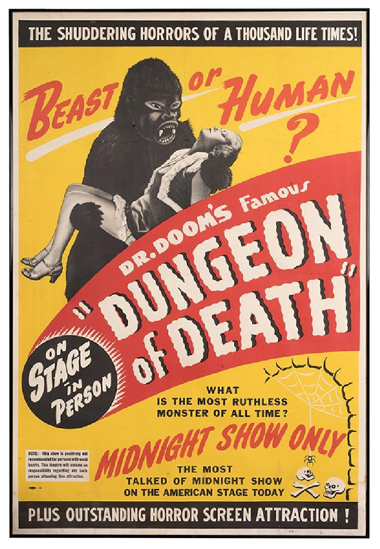 "Dr. Doom's Famous ""Dungeon of Death""."