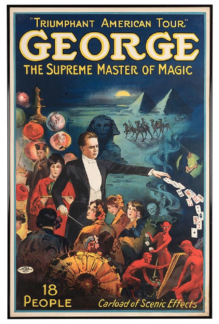 George the Supreme Master of Magic.