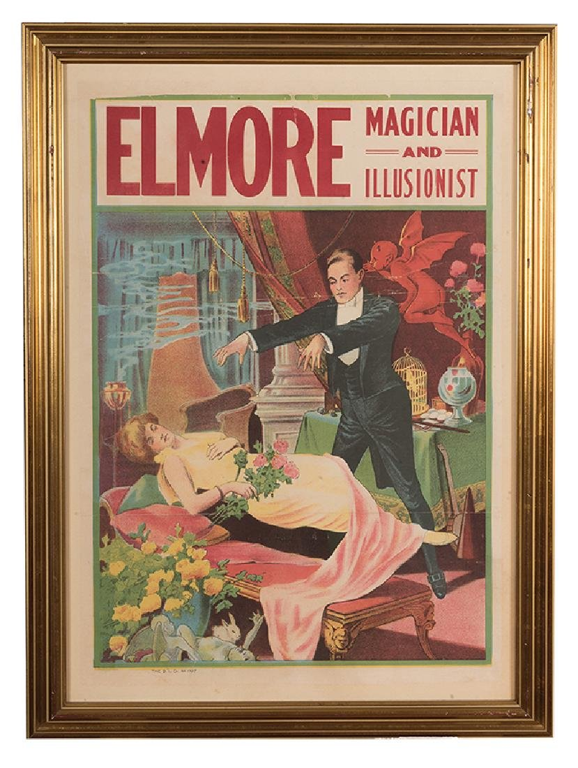 Elmore. Magician and Illusionist.
