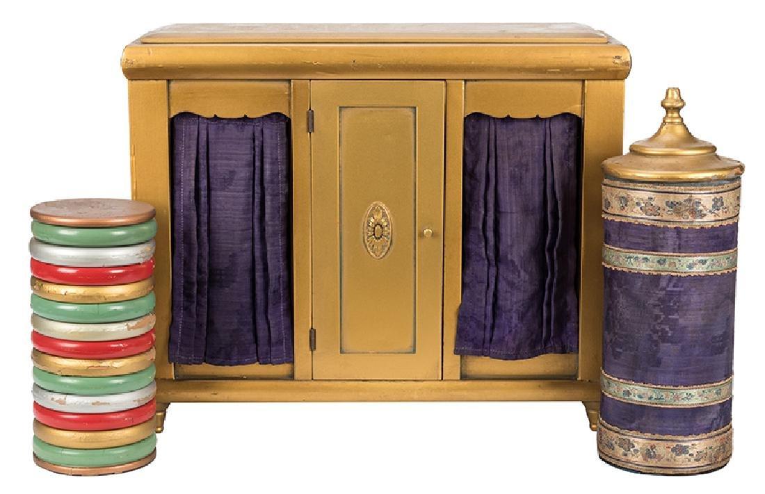 Nixon Checker Cabinet (Vari-Colored Checker Cabinet).