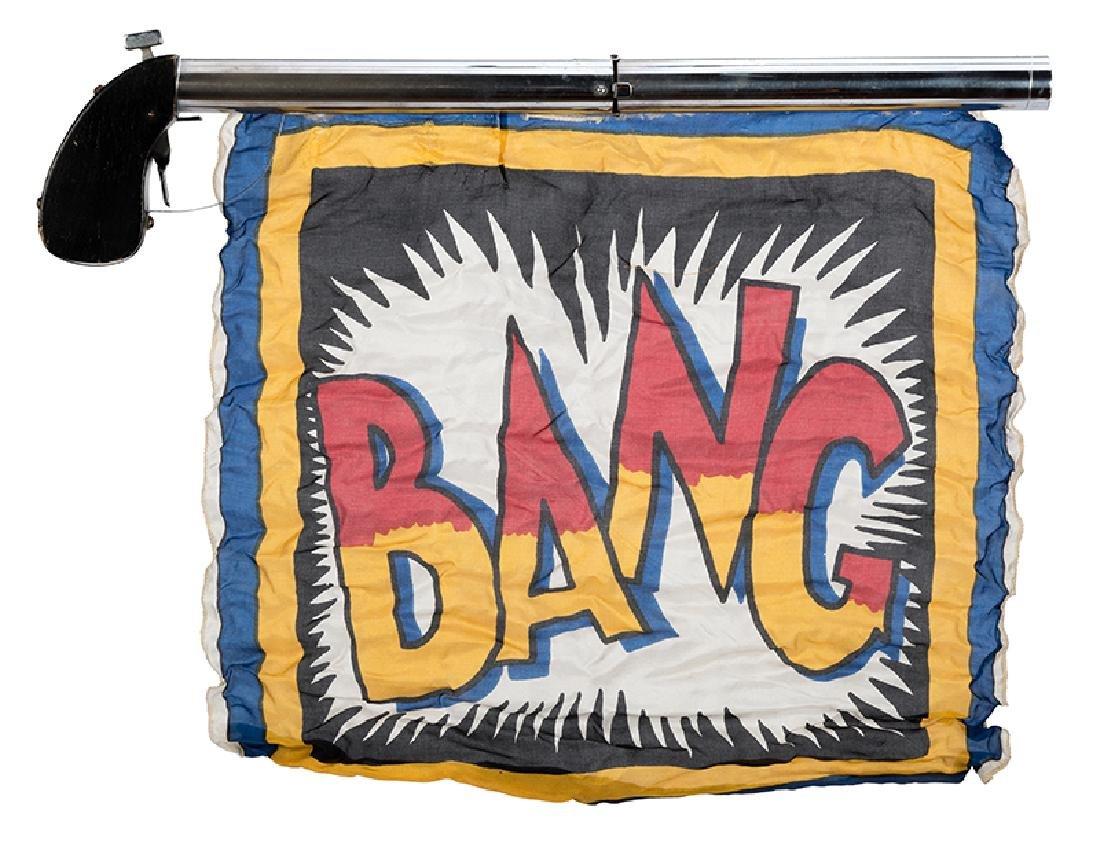 Comedy Bang Silk Gun.
