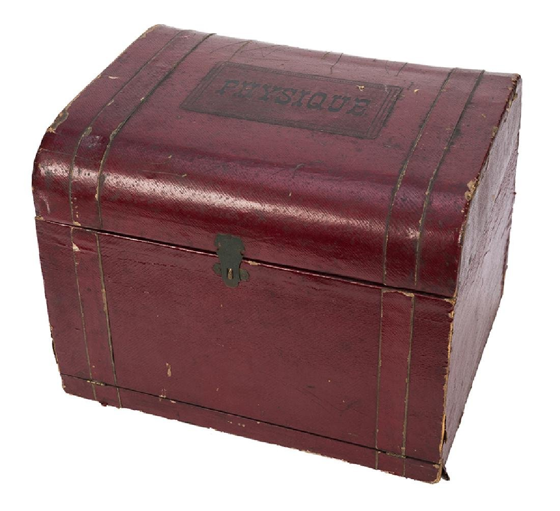 Antique Physique Magic Chest Conjuring Set.