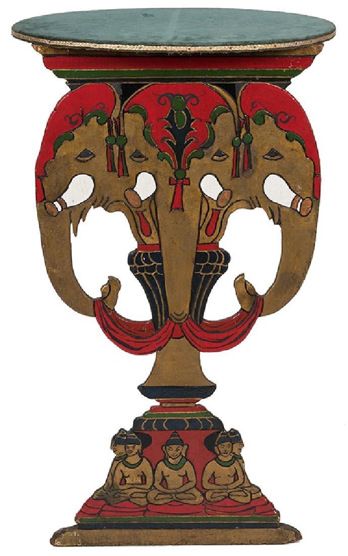 Elephant Head Table.