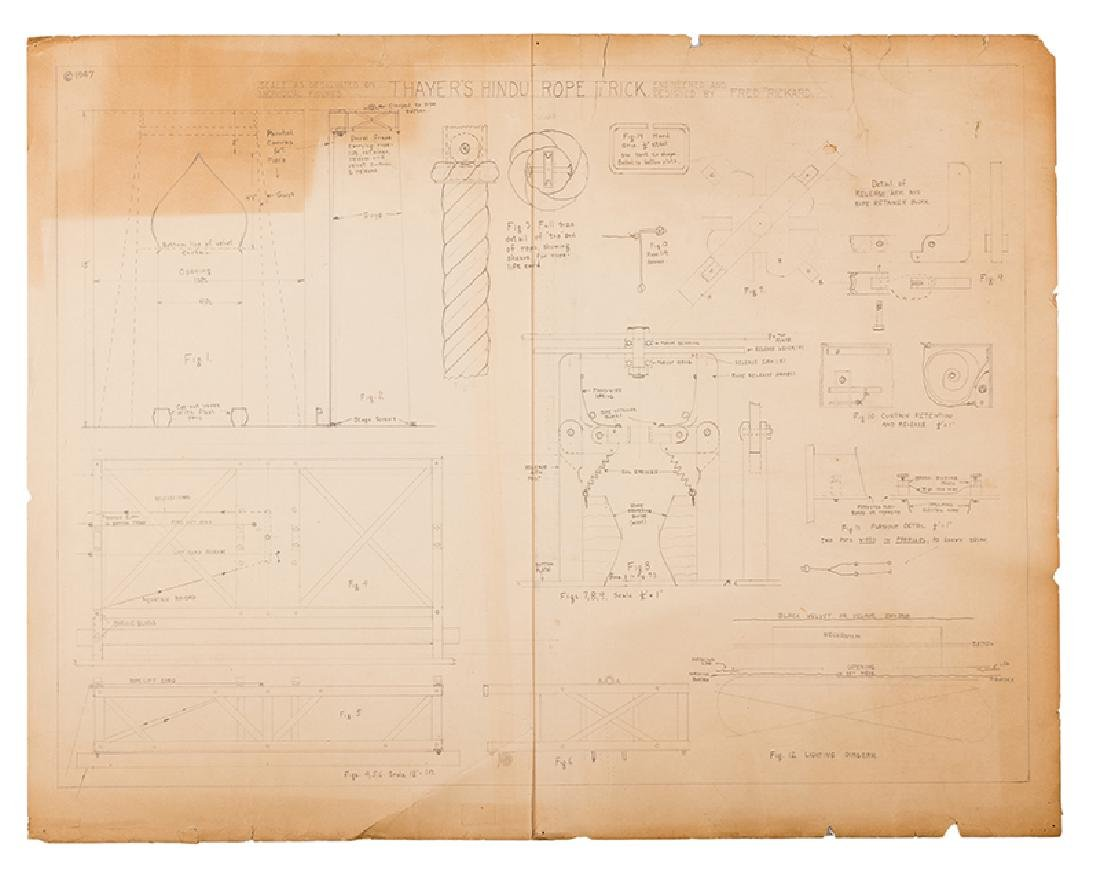 Portfolio of Original Illusion Drawings and Blueprints