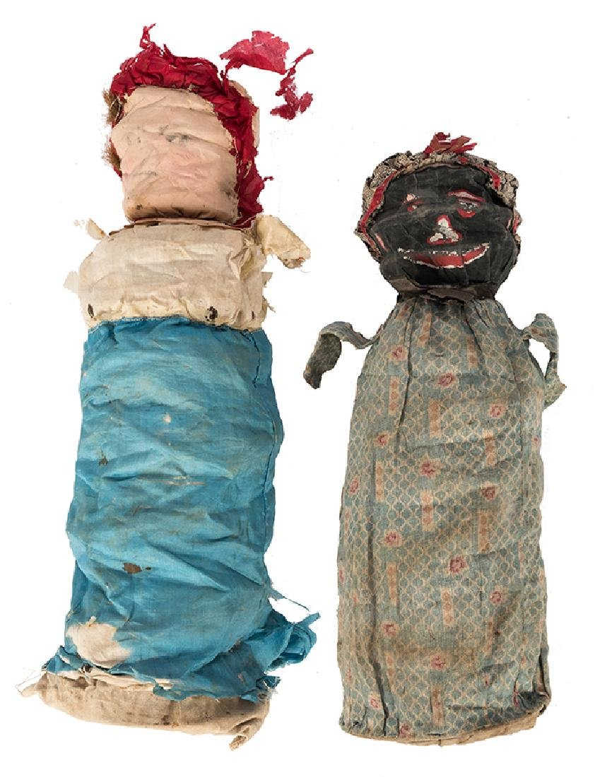 Two Spring Dolls Owned by Dante.