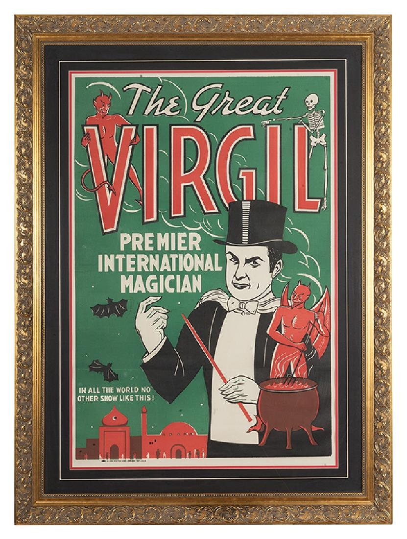 The Great Virgil. Premier International Magician.